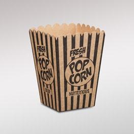 Kraft-popcorn-boxes