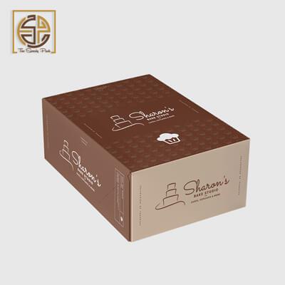 custom-printed-brown-cake-boxes